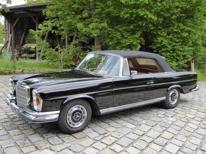 1969 MERCEDES BENZ 280SE CABRIOLET classic convertible luxury d wallpaper