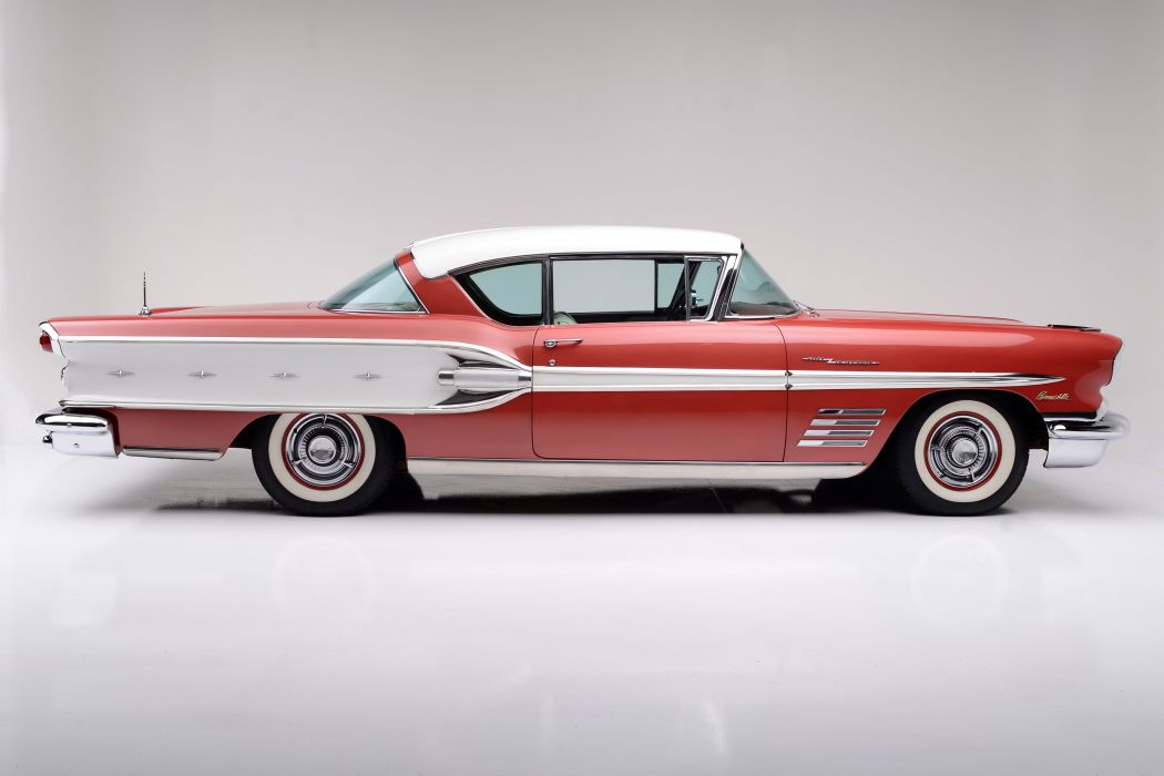 1958 PONTIAC BONNEVILLE SPECIAL luxury retro f wallpaper