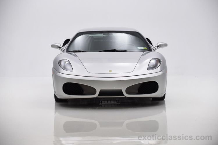 2007 Ferrari f430 Berlinetta coupe cars silver wallpaper