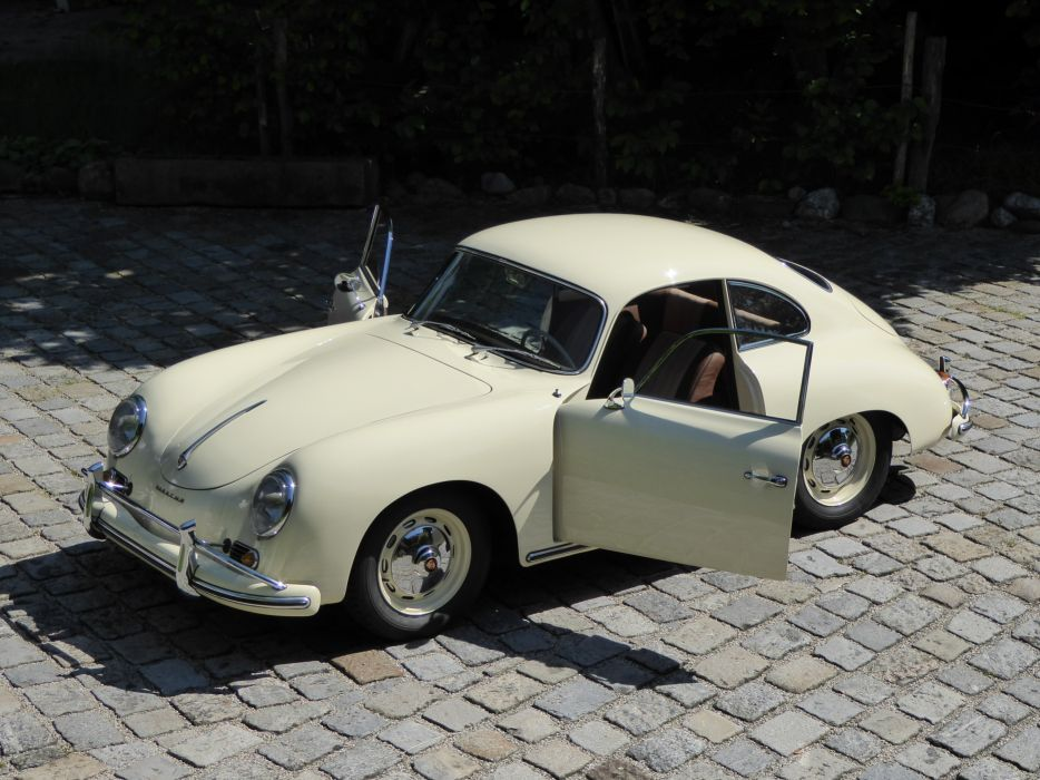 1958 PORSCHE 356 A 1600 COUPE retro d wallpaper