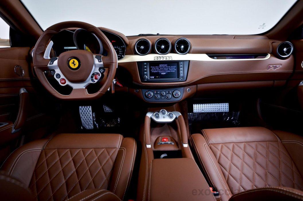 2012 Ferrari Ff Cioccolato Coupe Cars 4wd Wallpaper 1920x1272