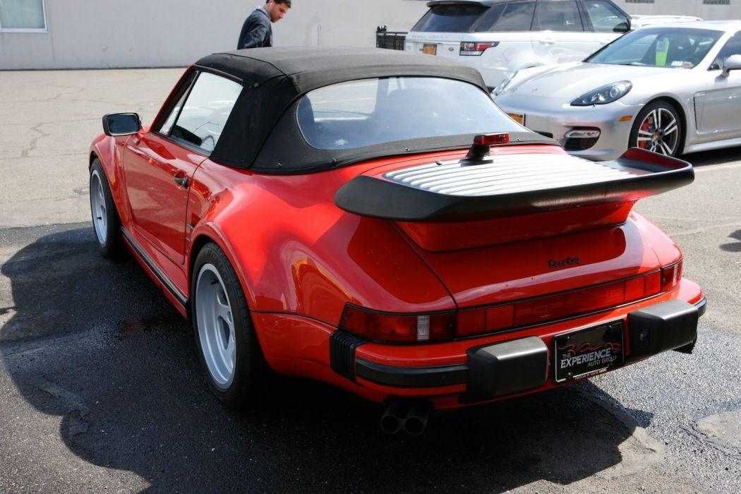 1988 PORSCHE 911 TURBO CABRIOLET SLANTNOSE y wallpaper