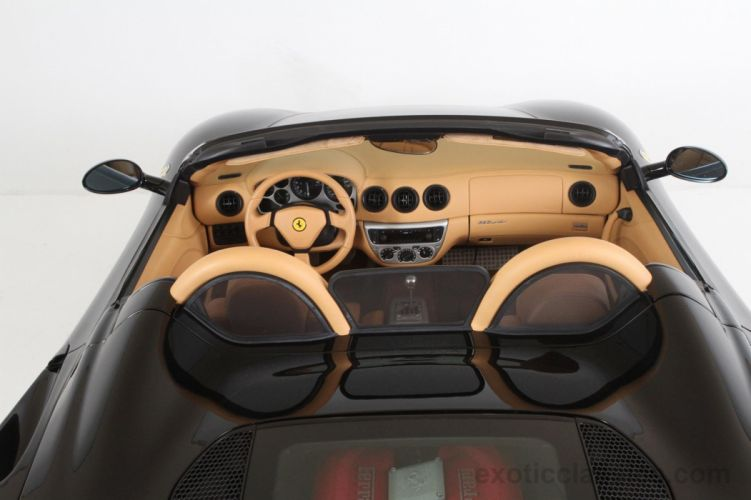 2003 Ferrari Modena 360 Spider cars black wallpaper