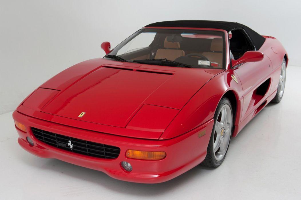1999 Ferrari F355 Fiorano cars spider Rossa Corsa red wallpaper