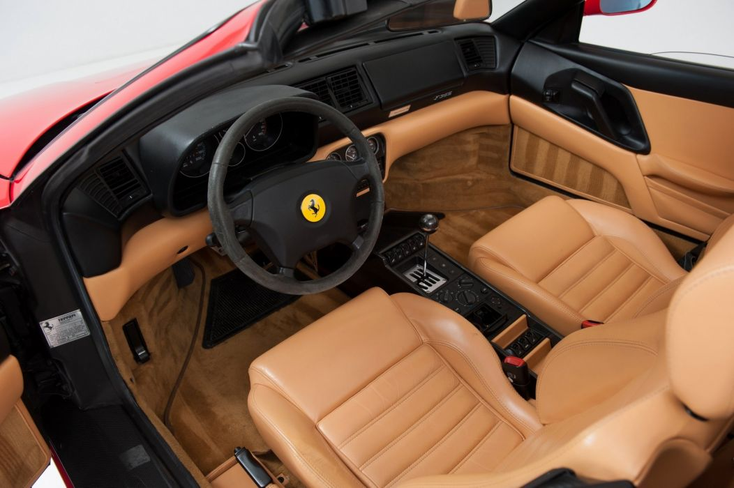 1999 Ferrari F355 Fiorano cars spider Rossa Corsa red wallpaper