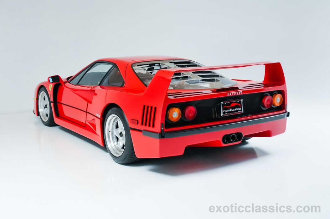 1991 Ferrari F40 supercars cars rossa corsa red wallpaper