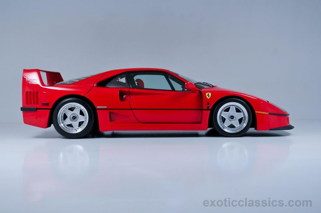 1991 Ferrari F40 supercars cars rossa corsa red wallpaper