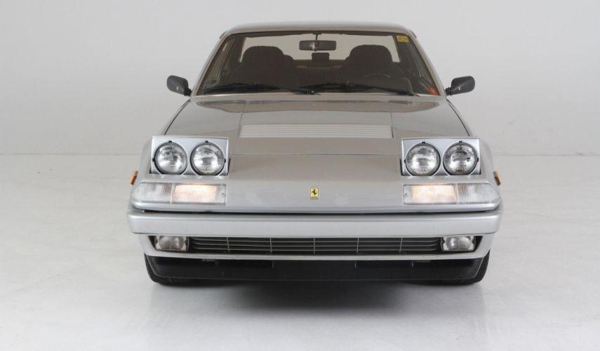 1986 Ferrari 412 GT Agrento Metallic Silver cars wallpaper