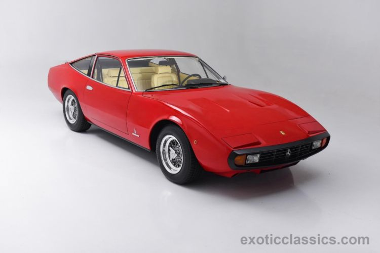 4 Rosso Corsa Red classic cars wallpaper