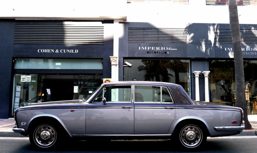 1974 ROLLS ROYCE SILVER SHADOW luxury f wallpaper
