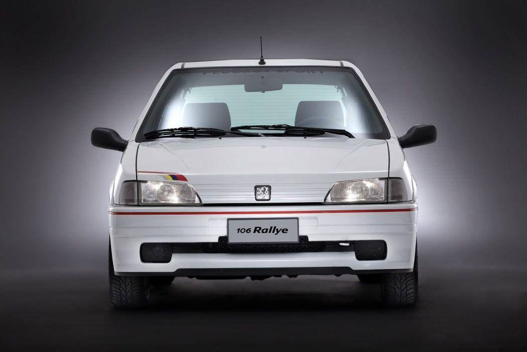 Peugeot 106 Rallye 1994 cars white wallpaper