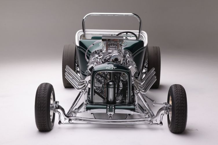 1923 Ford Roadster Modified Drag Dragster Race Old School Vintage USA -02 wallpaper