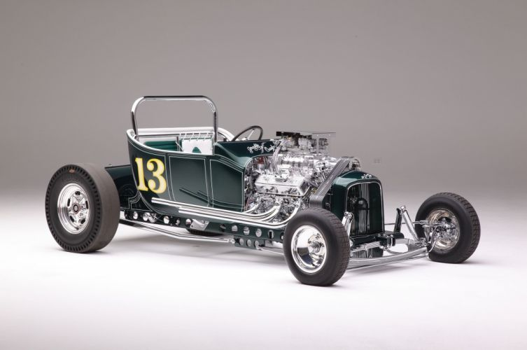 1923 Ford Roadster Modified Drag Dragster Race Old School Vintage USA -05 wallpaper