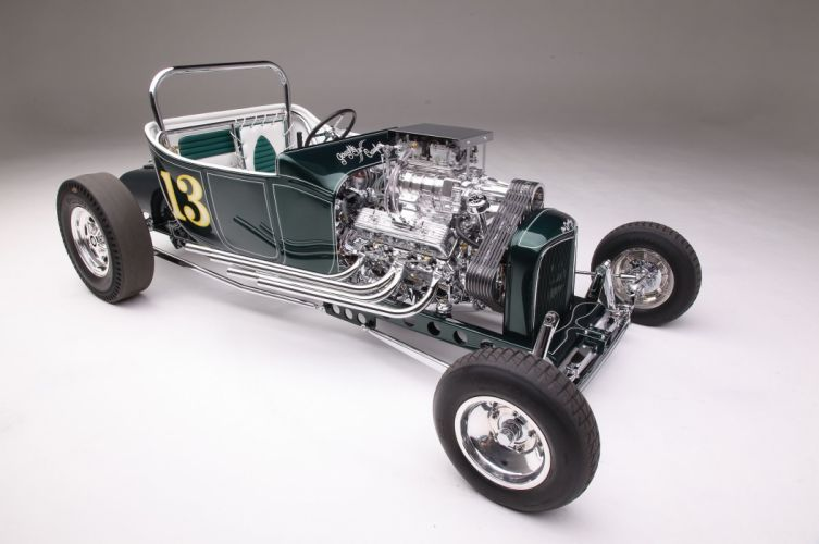1923 Ford Roadster Modified Drag Dragster Race Old School Vintage USA -04 wallpaper