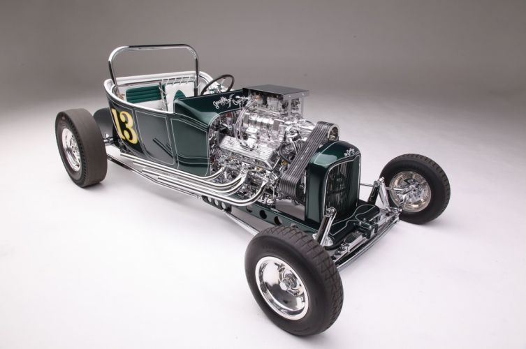 1923 Ford Roadster Modified Drag Dragster Race Old School Vintage USA -03 wallpaper