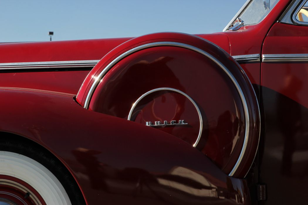 1940 Buick Eight Special Convertible Sedan Classic Old Retro Vintage Original USA -06 wallpaper