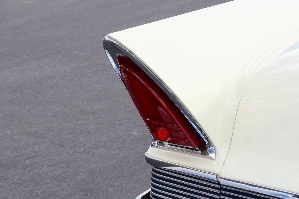 1957 Lincoln Premiere De Luxe Convertible Classic Old Retro Vintage Original USA -09 wallpaper