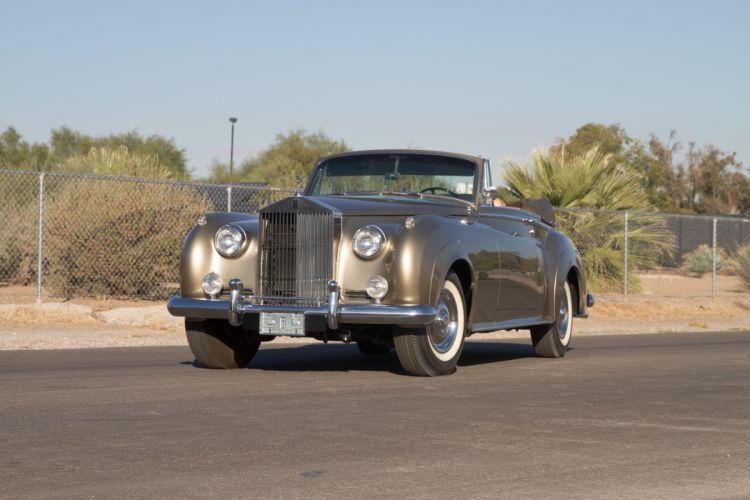1962 Rolls Royce Mulliner Drophead Coupe Classic Old Retro Original UK -01 wallpaper