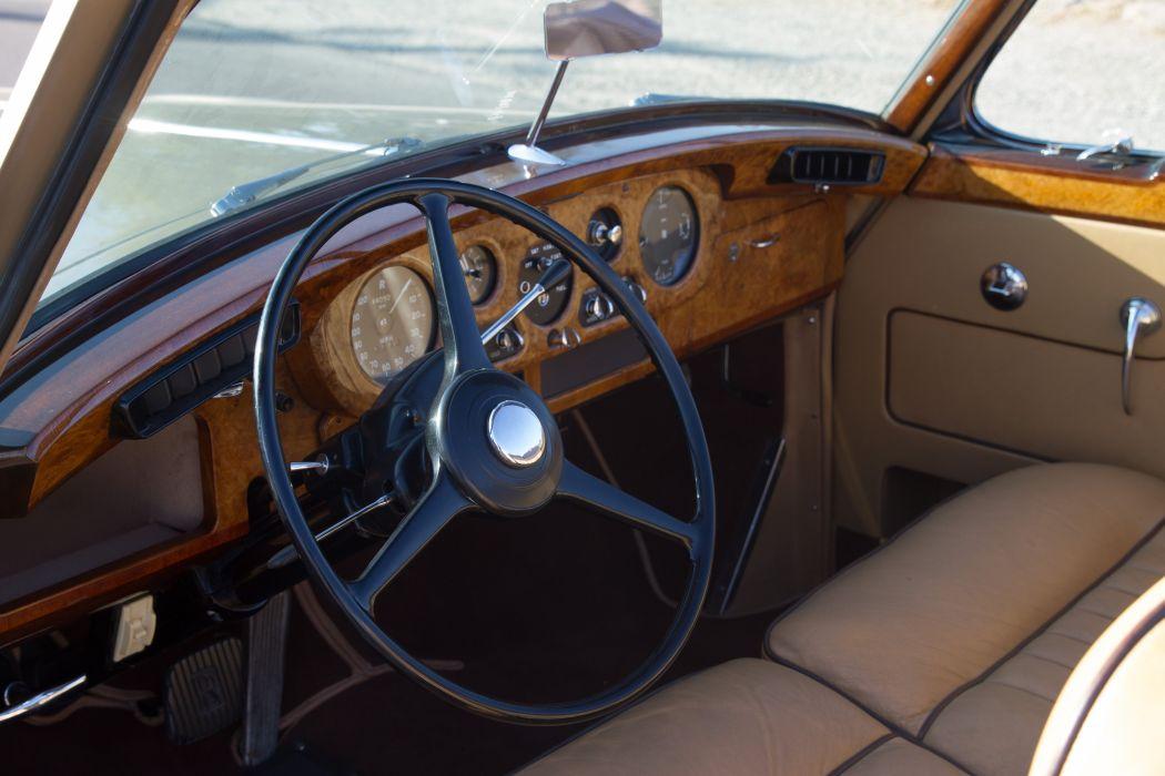 1962 Rolls Royce Mulliner Drophead Coupe Classic Old Retro Original UK -03 wallpaper