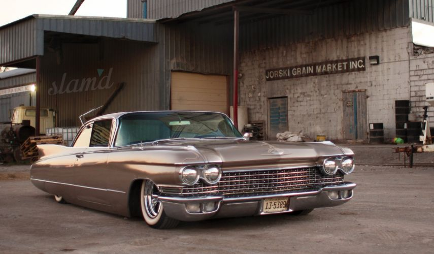 1960 Cadillac Coupe DeVille lowrider custom classic luxury ss wallpaper