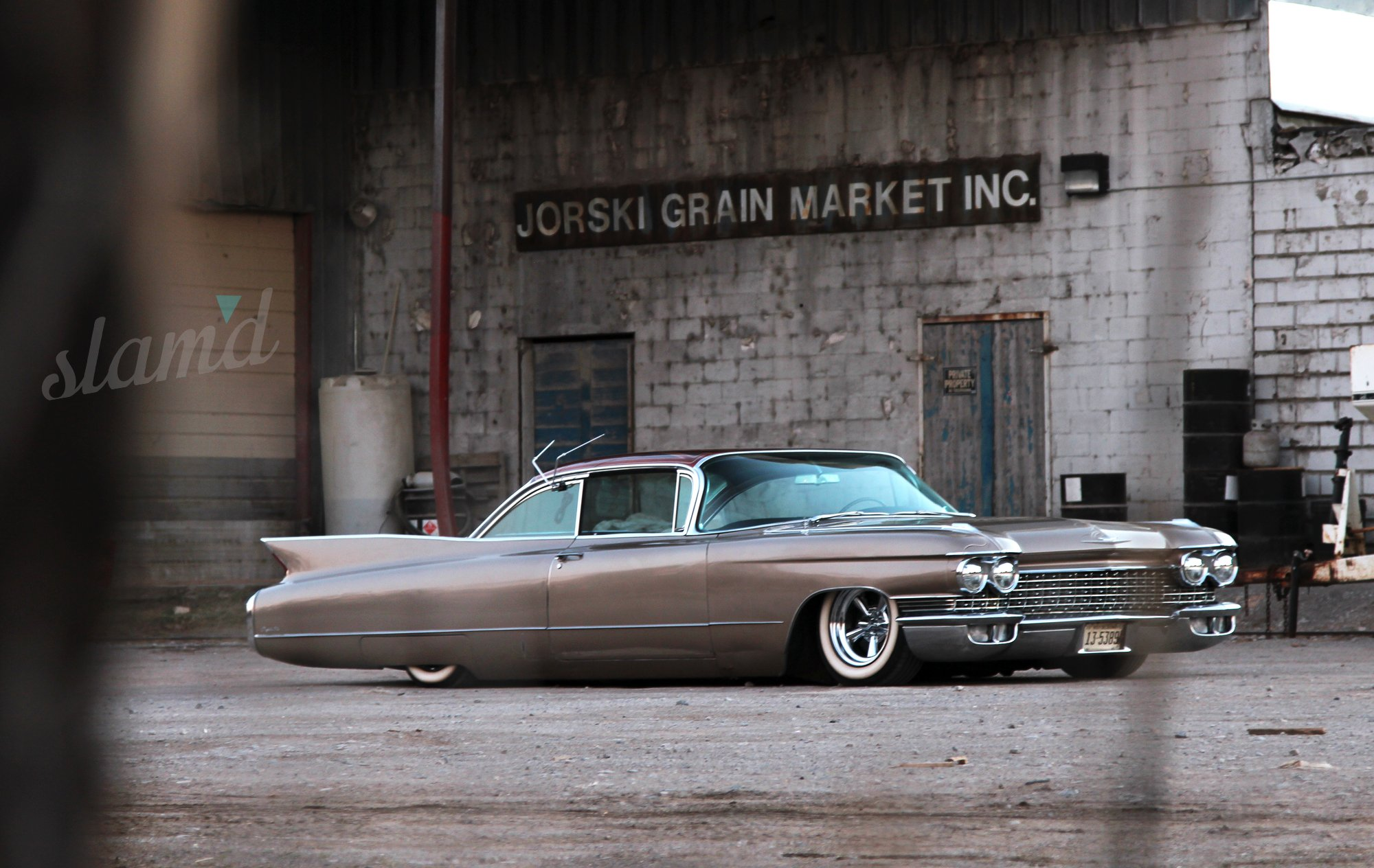 1960 Cadillac Coupe DeVille Lowrider Custom Classic Luxury