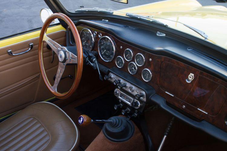 1965 Triumph TR4 Sport Convertible Classic Old Retro Vintage Original UK -05 wallpaper