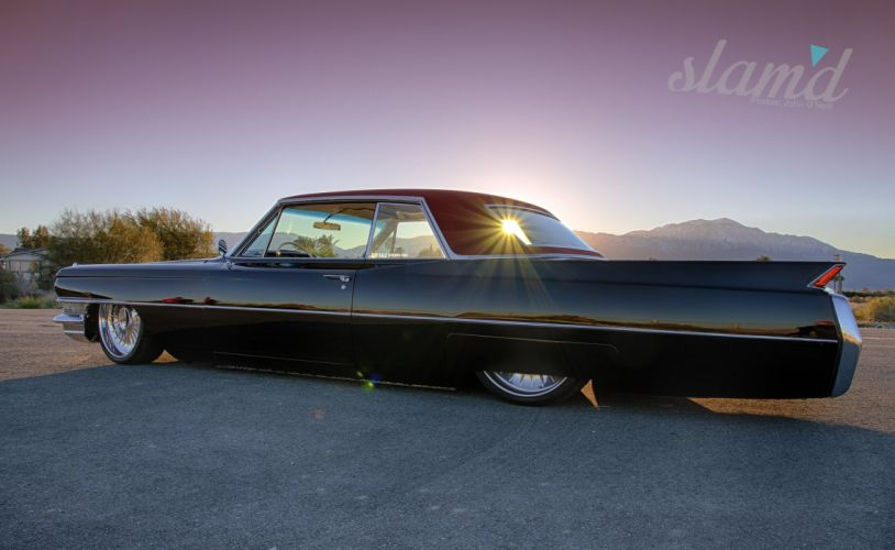 1964 Cadillac Couple DeVille lowrider custom classic ss wallpaper