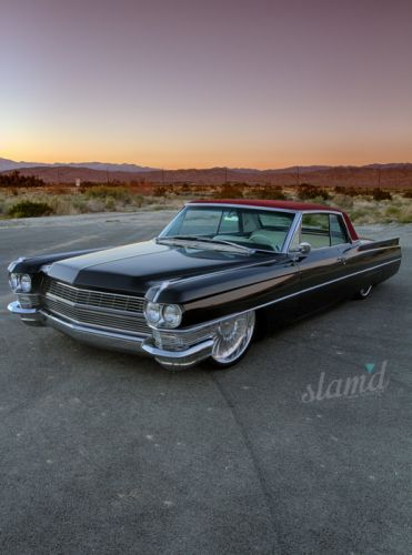 1964 Cadillac Couple DeVille lowrider custom classic ss wallpaper