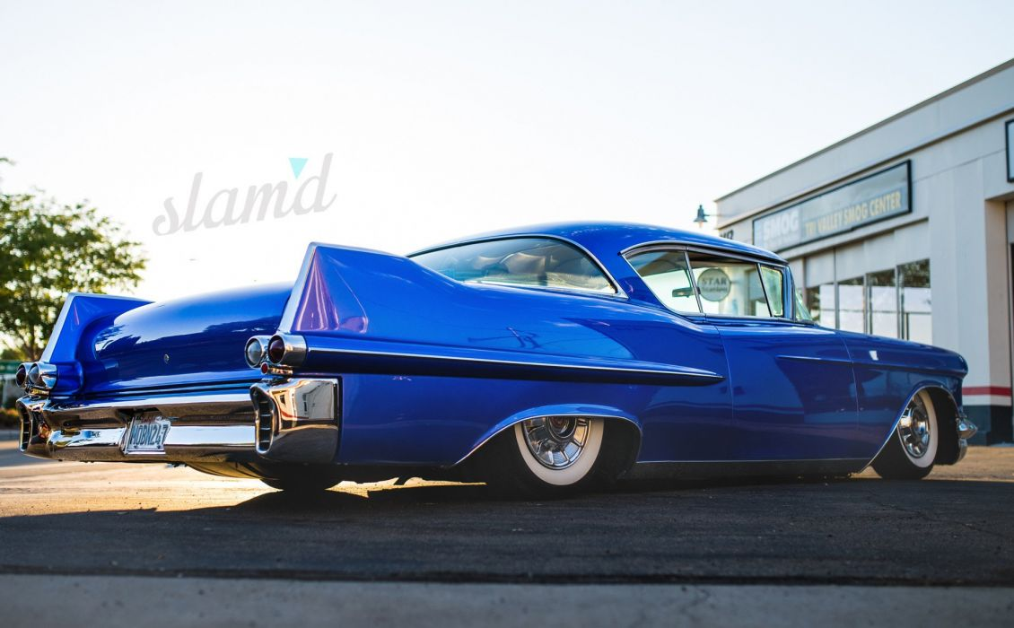 1957 Cadillac Coupe Deville lowrider custom retro s wallpaper