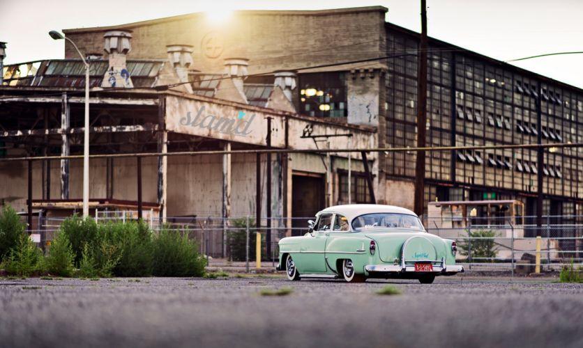 1953 Chevrolet Deluxe lowrider custom retro s wallpaper