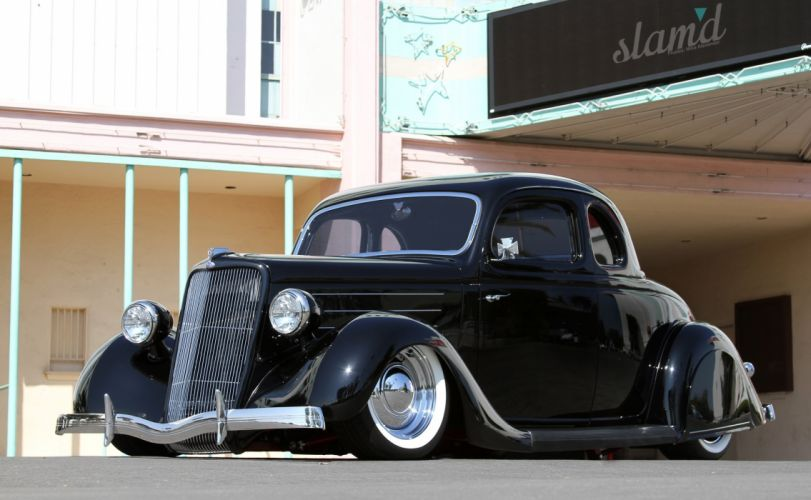 1935 Ford 5-W Coupe lowrider custom retro h wallpaper