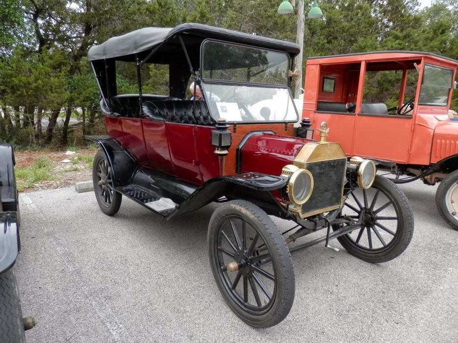 1913 Ford Model-T Open Tourer Classic Old Vintage Retro Original USA 1600x1200-01 wallpaper