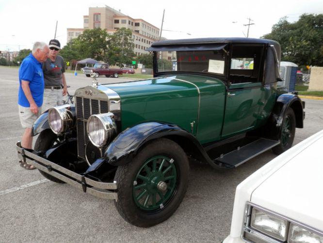 1921 Franklin Coupe Classic Old Vintage Retro Original USA 1600x1200-01 wallpaper