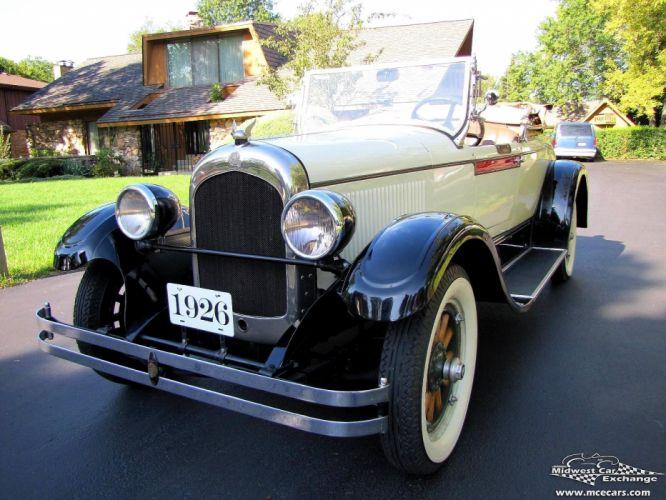 1926 Chrysler G-70 Roadster Classic Old Vintage Original USA -03 wallpaper