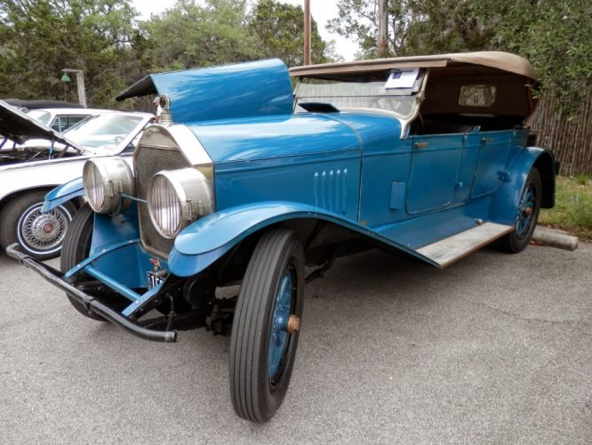 1924 Pierce Arrow Convertible Sedan Classic Old Vintage Retro Original USA 1600x1200-01 wallpaper