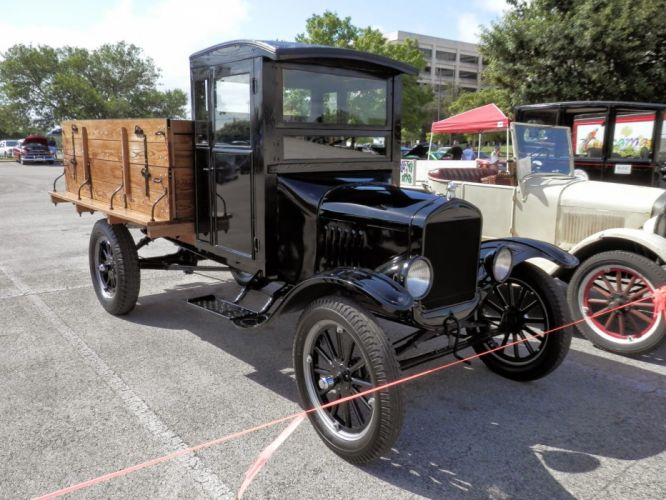 1926 Ford Model TT Stake Bed Truck Classic Old Vintage Retro Original USA 1600x1200-01 wallpaper