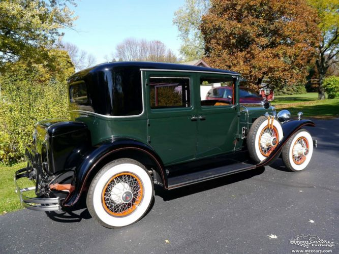 1929 Lasalle Town Sedan Four Door Series 328 Classic Old Vintage Original USA -03 wallpaper
