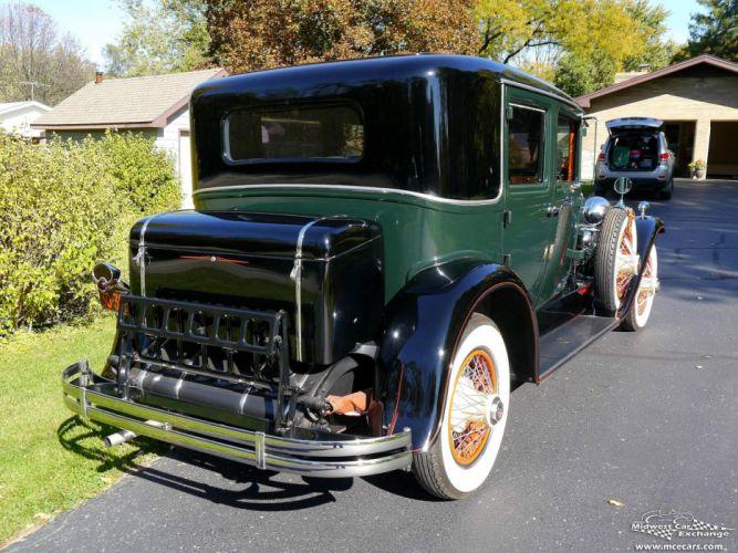 1929 Lasalle Town Sedan Four Door Series 328 Classic Old Vintage Original USA -04 wallpaper
