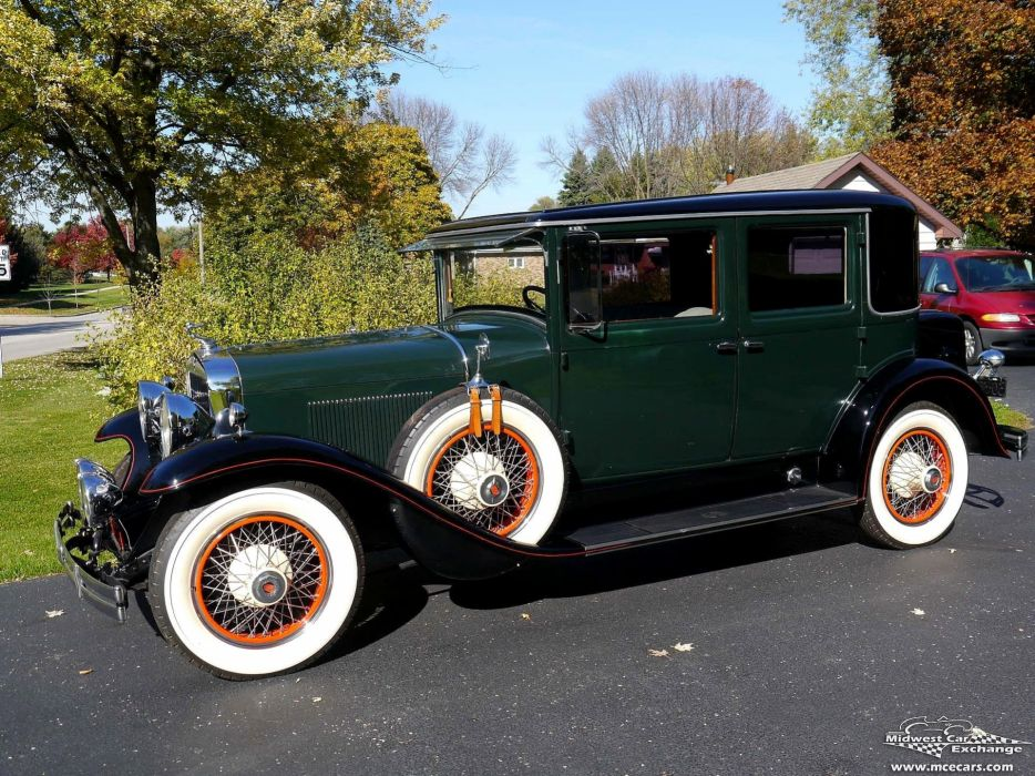 1929 Lasalle Town Sedan Four Door Series 328 Classic Old Vintage Original USA -09 wallpaper