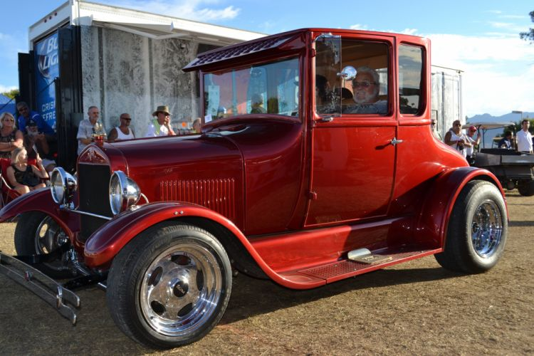 1926 Ford Model-T Coupe Hotrod Hot Rod USA -01 wallpaper