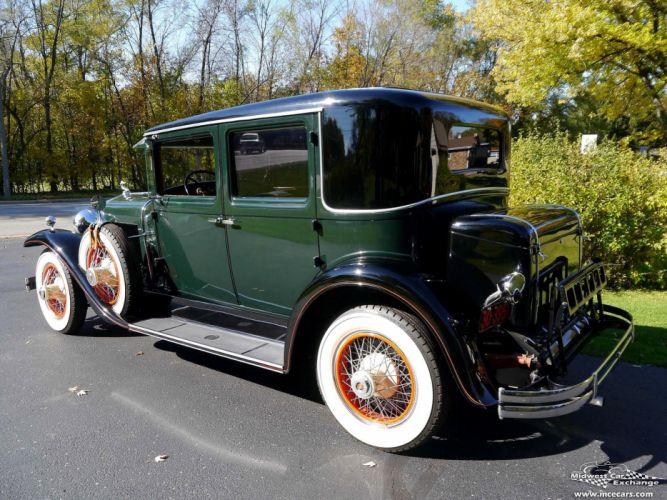 1929 Lasalle Town Sedan Four Door Series 328 Classic Old Vintage Original USA -12 wallpaper