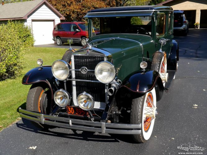 1929 Lasalle Town Sedan Four Door Series 328 Classic Old Vintage Original USA -11 wallpaper