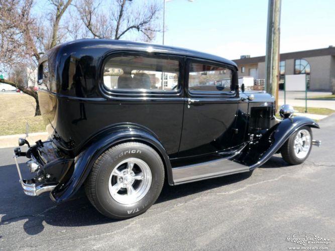 1932 Ford Sedan Street Rod Hot Streetrod Hotrod USA -05 wallpaper