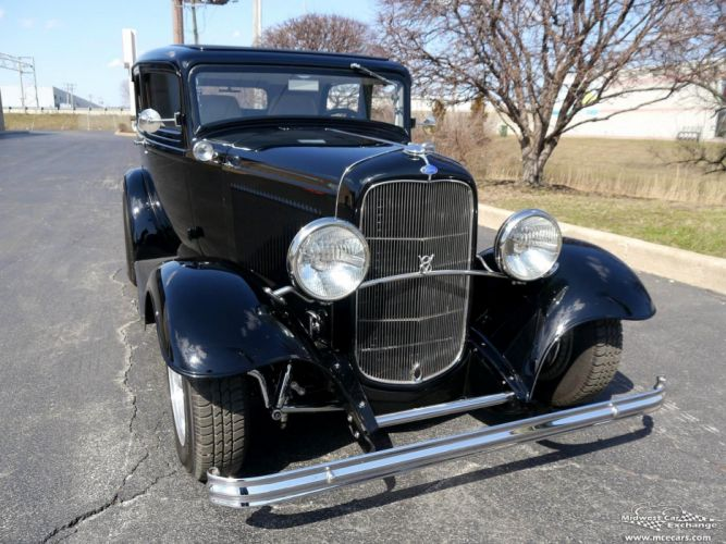 1932 Ford Sedan Street Rod Hot Streetrod Hotrod USA -04 wallpaper
