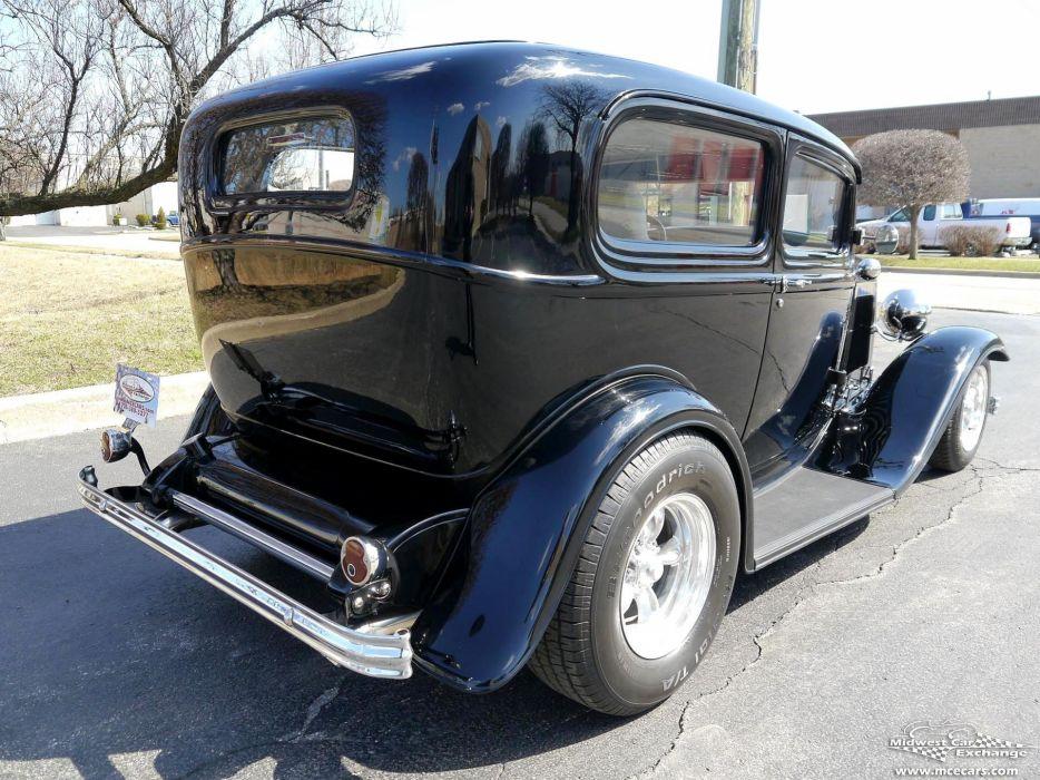 1932 Ford Sedan Street Rod Hot Streetrod Hotrod USA -06 wallpaper