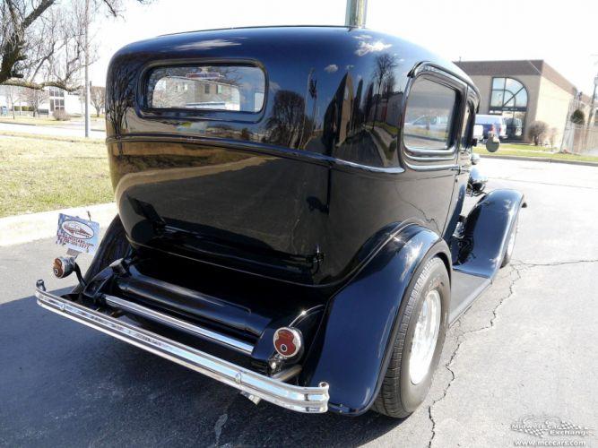 1932 Ford Sedan Street Rod Hot Streetrod Hotrod USA -07 wallpaper