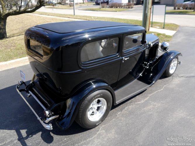 1932 Ford Sedan Street Rod Hot Streetrod Hotrod USA -09 wallpaper
