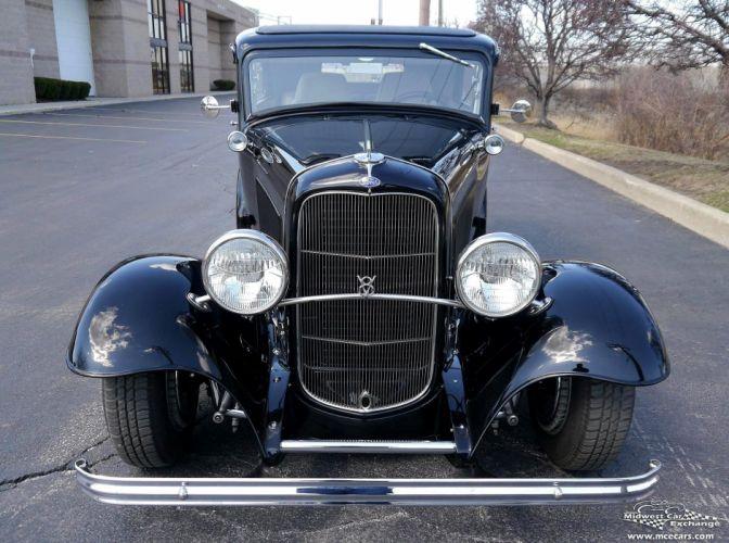 1932 Ford Sedan Street Rod Hot Streetrod Hotrod USA -10 wallpaper