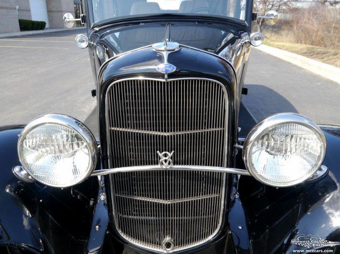 1932 Ford Sedan Street Rod Hot Streetrod Hotrod USA -11 wallpaper