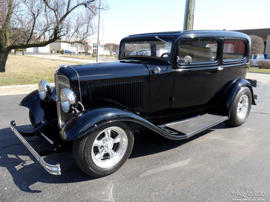 1932 Ford Sedan Street Rod Hot Streetrod Hotrod USA -14 wallpaper